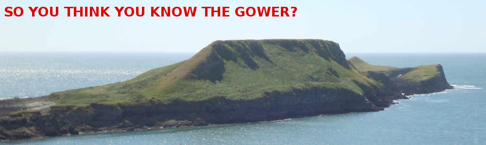 Gower peninsula Wales quiz banner
