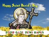 Happy St David's Day ( contributing artist Gaabriel Becket)